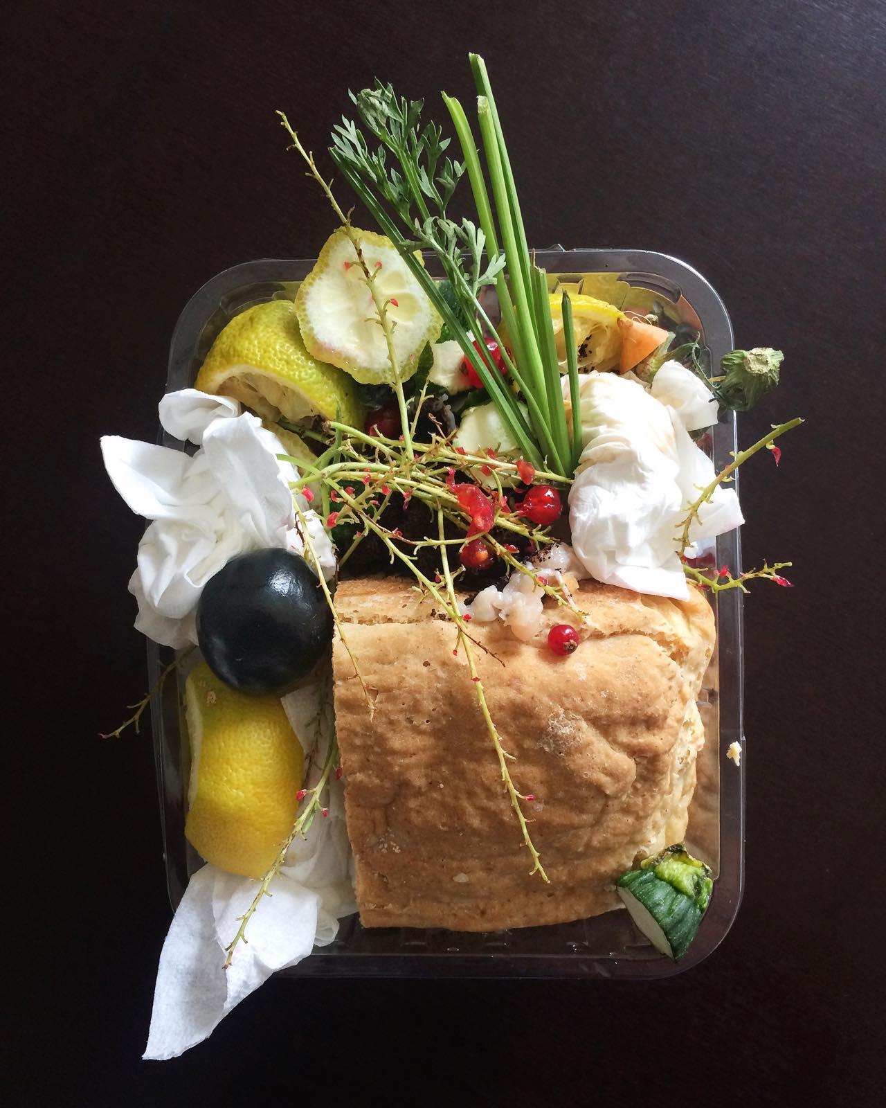 Brot, Johannisbeere, Karotte, Zitrone, Kunst Berlin, Fotografie