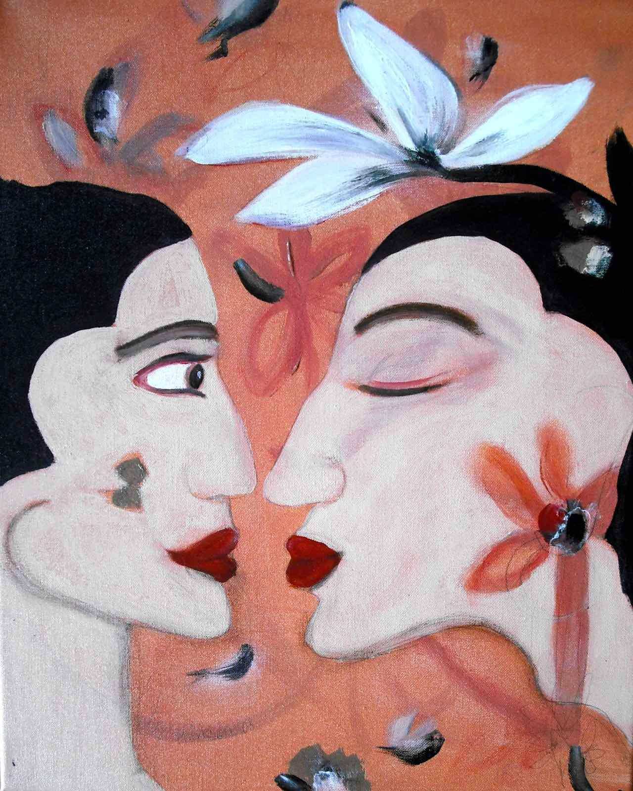 Der Kuss, 40×50