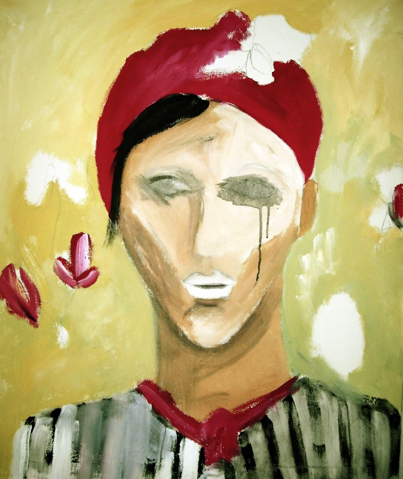 Mann ohne Augen